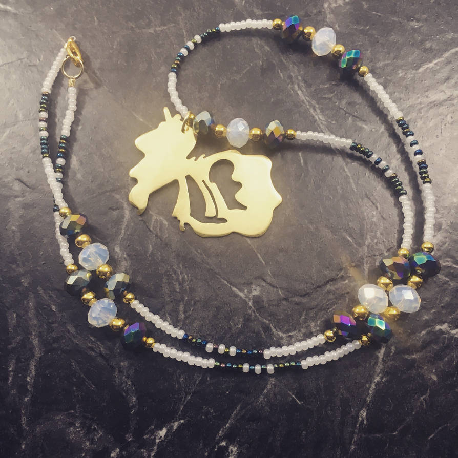 Celestia Brass Pendant  by EpicLootz