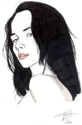 Katie Fey Marker Sketch by sattch