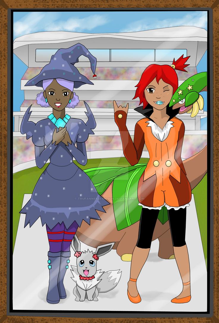 Pokemon Contest Winners 2 by TrufanNekiaWilson