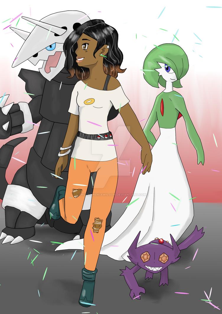 New Pokemon Champion by TrufanNekiaWilson