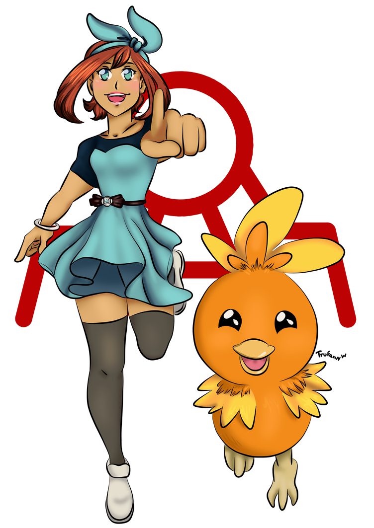 May And Torchic by TrufanNekiaWilson