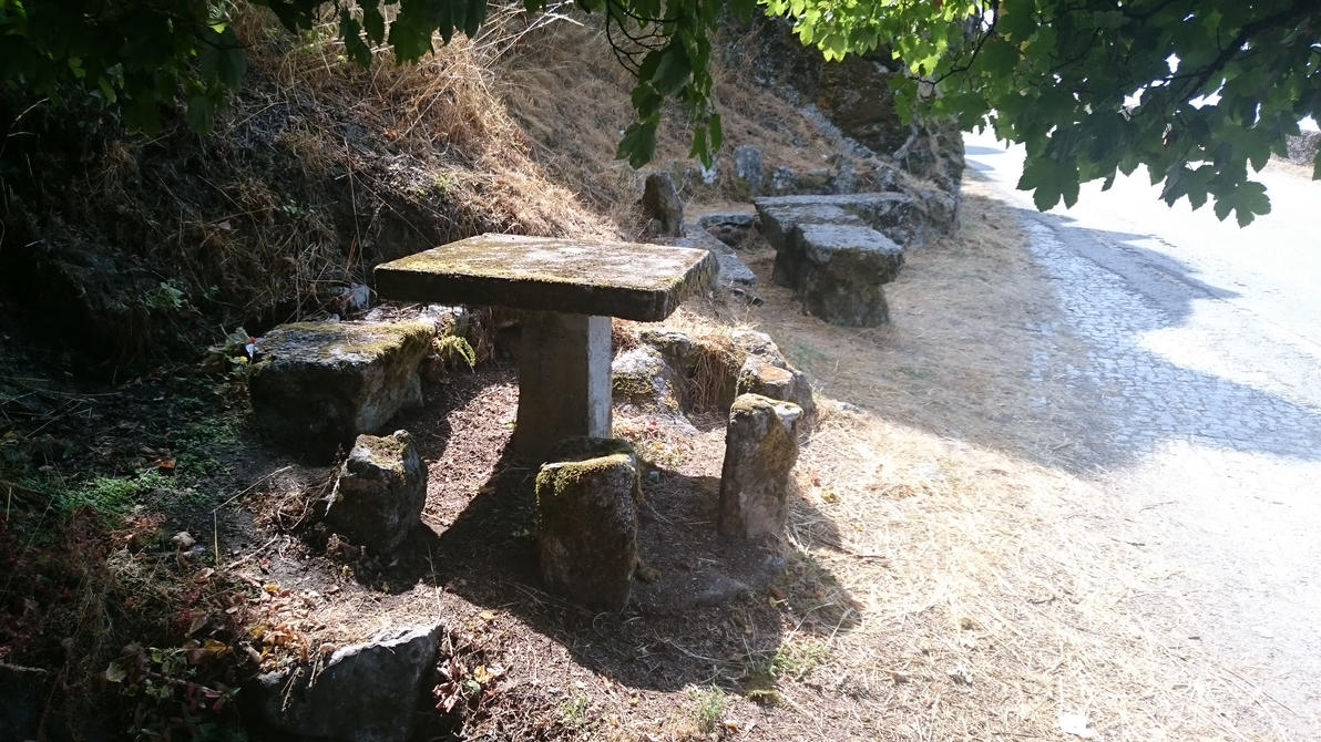 Old table by Zetemplar