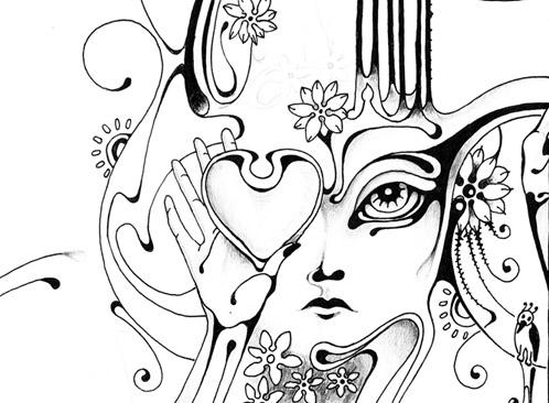 Lyra constellation - detail by TalkingWave