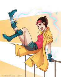 Jubilee - X-Men by FindChaos
