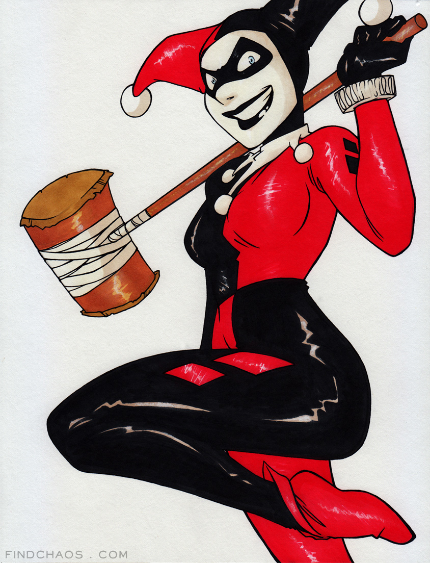 Harley - Markers by FindChaos