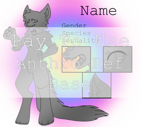 P2U Anthro Furry Reference Base {OPEN}