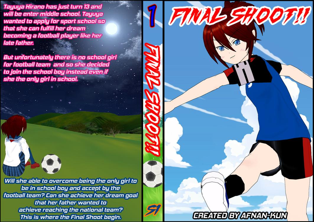 FINAL SHOOT!! BOOK COVER by Afnan-kun