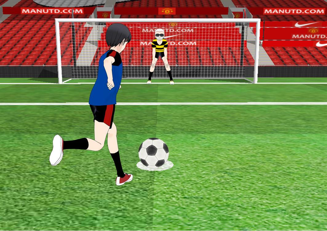 Old Trafford - Penalty by Afnan-kun