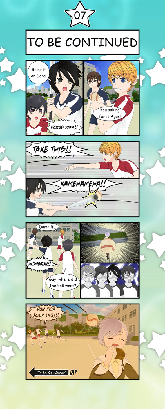 Comi Po! High 07 - TO BE CONTINUED by Afnan-kun