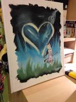 Painting My Love by GinaLuvsFang