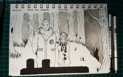 Inktober: Day 1 by DelissNyx