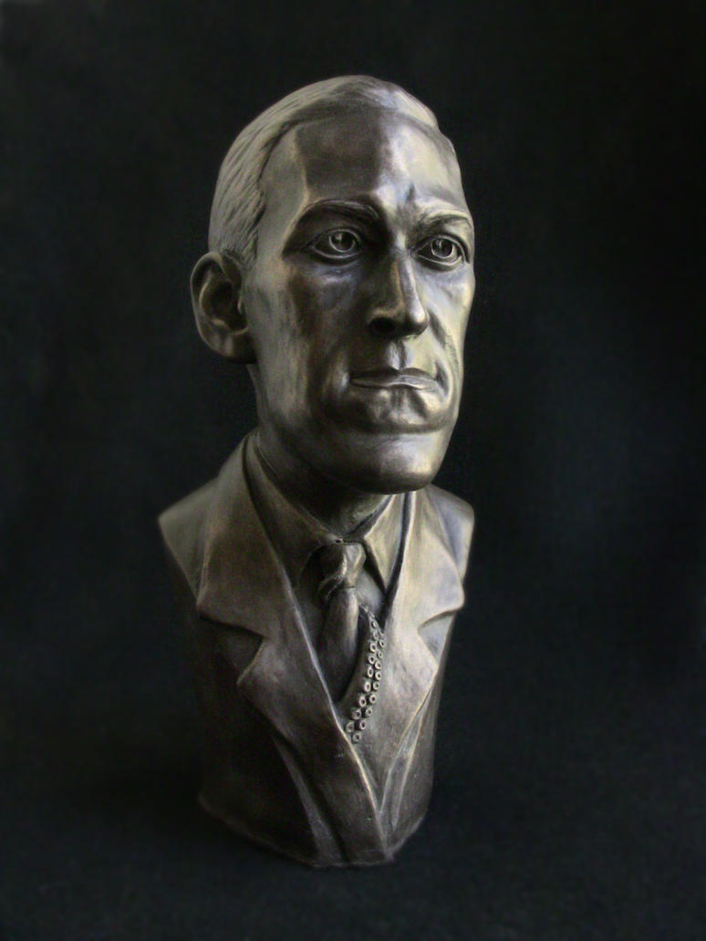HP LOVECRAFT bronze by bigmagnet
