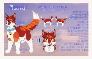 Massiel reference sheet 2017 by MeggisCat