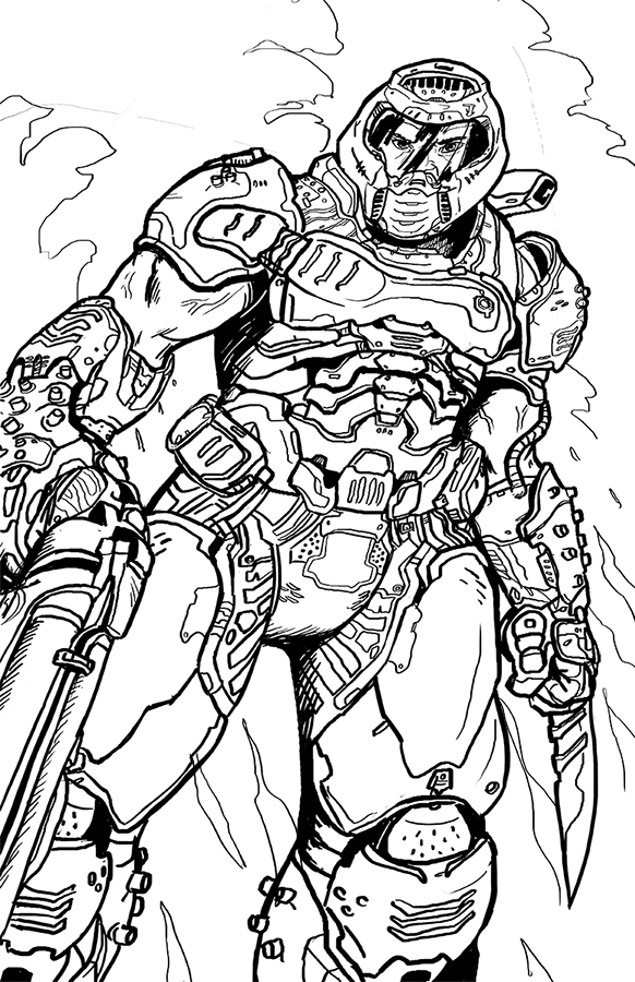 Doom Eternal: Doomguy Lines