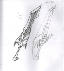 new sword concept by Chief-Mercado