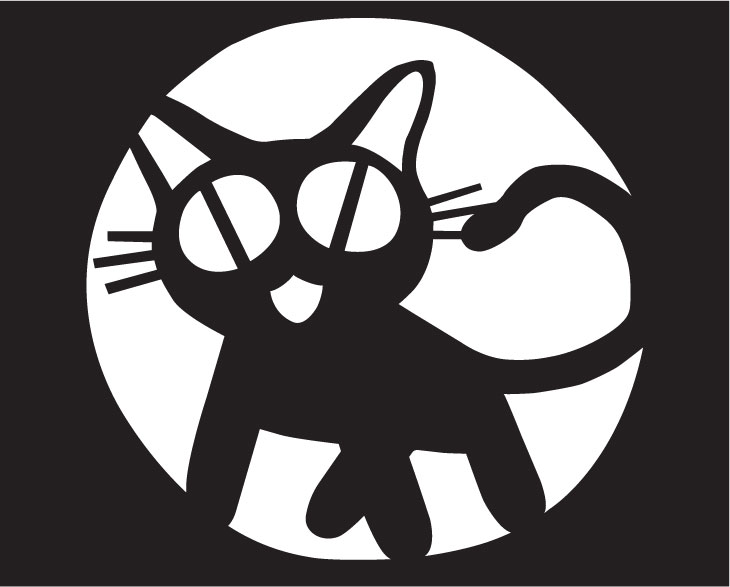 Trigun kitty pumpkin design by shadao on deviantart for Pumpkin kitty designs