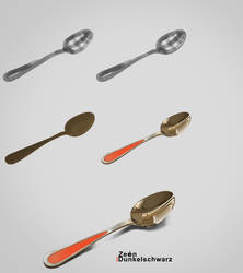 How I paint a Spoon | Step by step