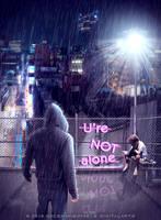 U're NOT alone by gecemavisipixels