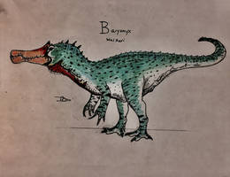 Crocodileduck by CoelurosaurianArtist