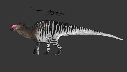 Edmontosaurus annectens (2019) by CoelurosaurianArtist