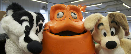 The vienna comix mascot