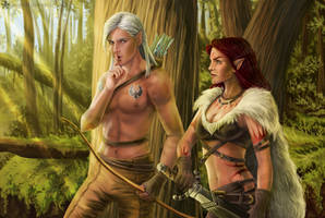 Dragon hunters by wayleri