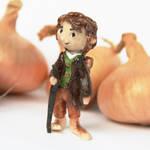 Bilbo Baggins (polymer clay figure) by wayleri