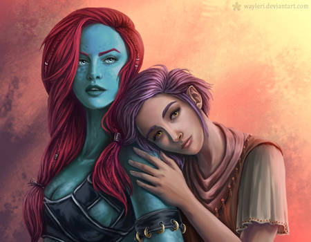 Telzi and Delilah