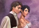 Kendra and Samuel by wayleri