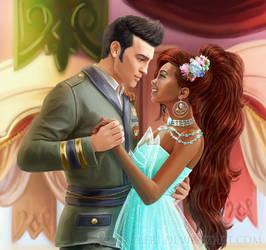 Aisha and Nex dance