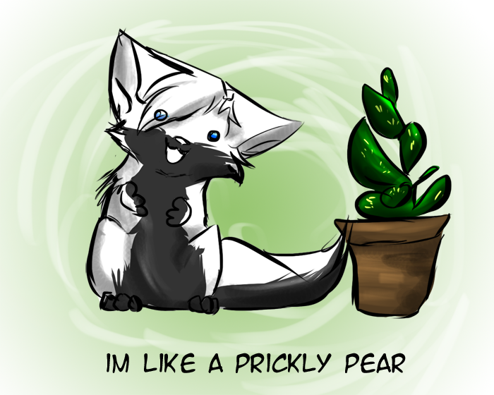 I M A Prickly Pear Warrior Cats
