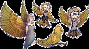 Harpy Girl by KakikoArts