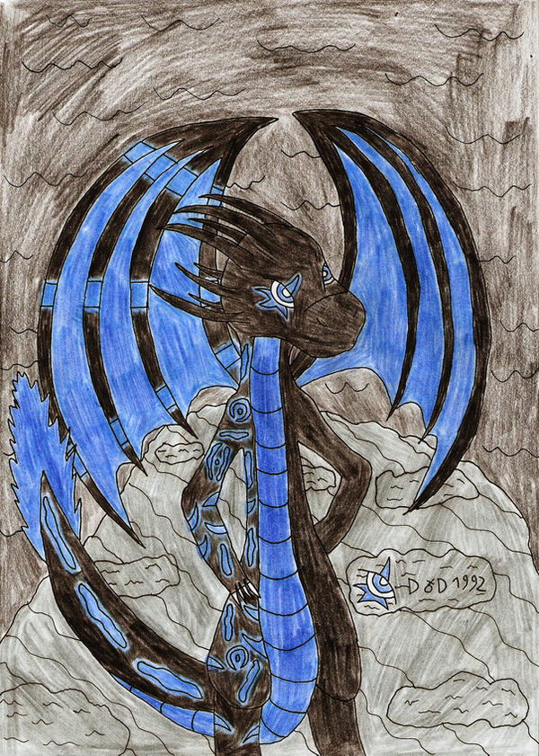 Anthro NightShade thf's style by DragonofDarkness1992