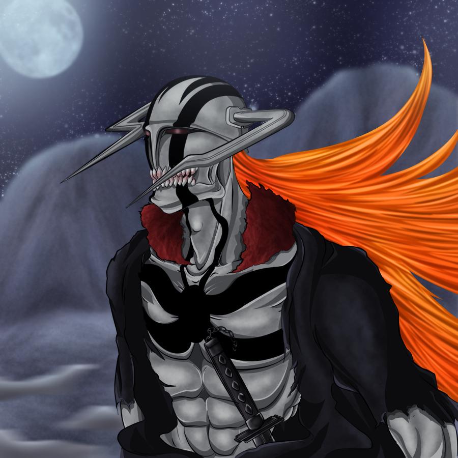 Hollow_ichigo By Naruto-MC On DeviantArt