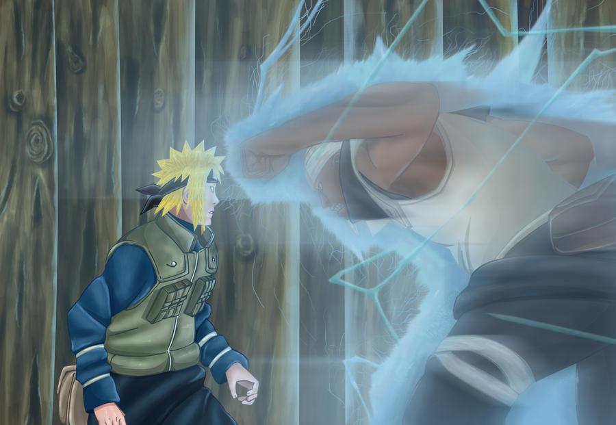 Minato VS Raikage by Naruto-MC