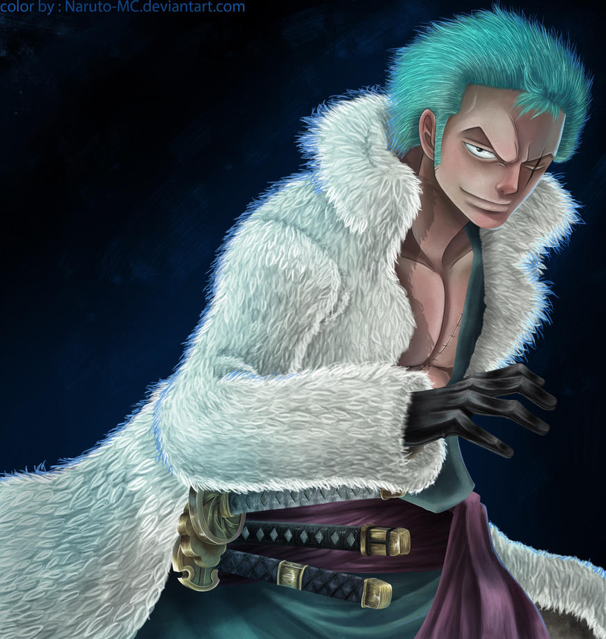 zoro is ready by Naruto-MC