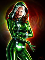 Rogue -Original Hooded Costume by ArcosArt