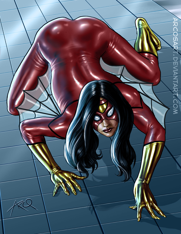 Commission: Spider-Woman by ArcosArt