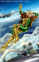 Rogue - Jim Lee Outfit by ArcosArt