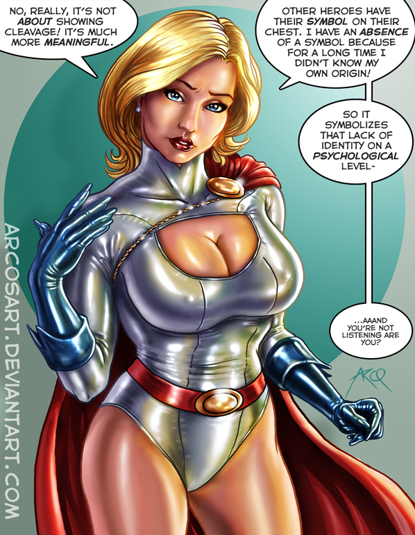 Commission: Powergirl by ArcosArt