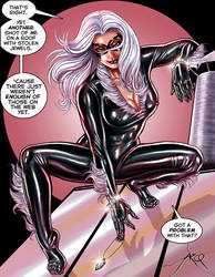 Black Cat - Commission by ArcosArt