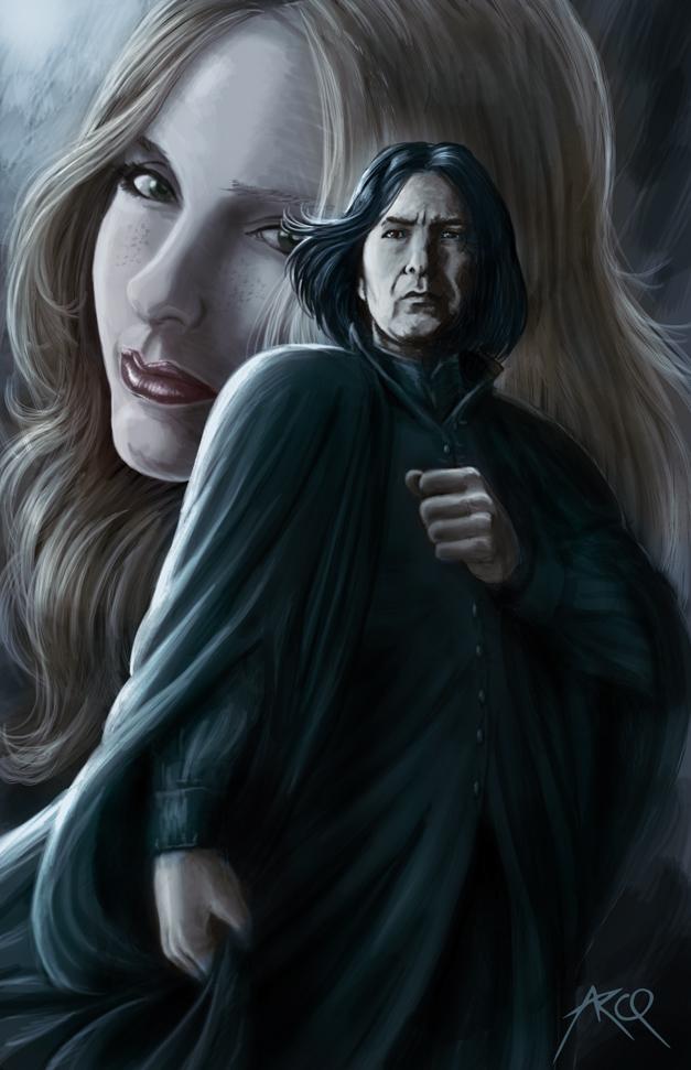 Severus Snape by ArcosArt