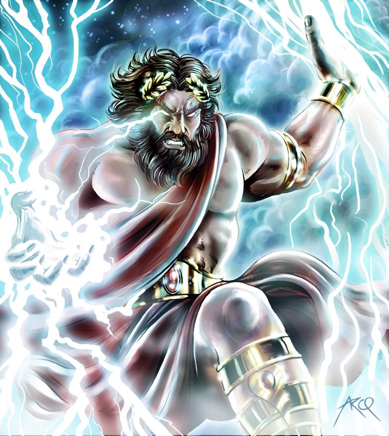 king of gods in greek mythology