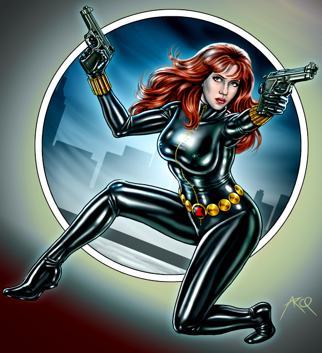Black Widow - Commission by ArcosArt