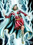 Female Captain Marvel OC Commission