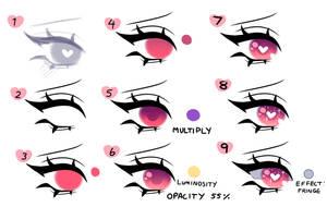 Eye Tutorial by BurntDaisy