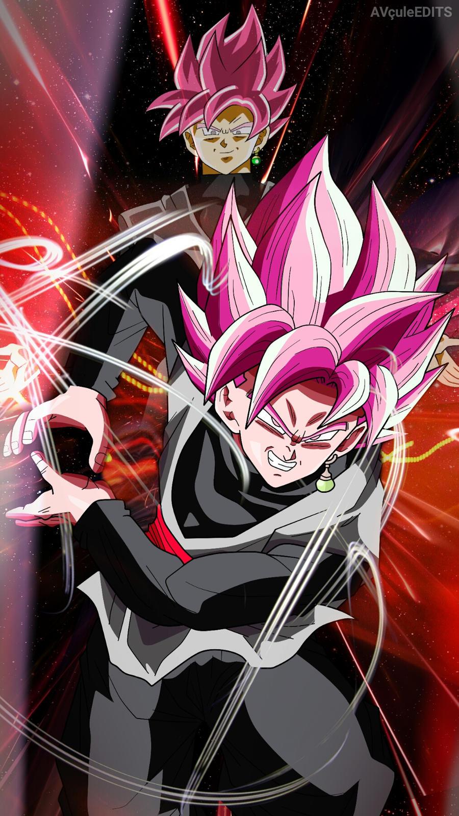 Goku black ssj rose by abhinavthecule on deviantart - Super saiyan rose wallpaper ...