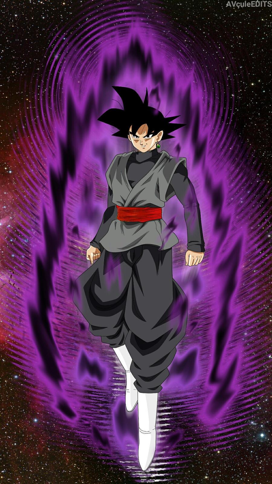 Goku Black Normal Form Ki Up by AbhinavtheCule on DeviantArt