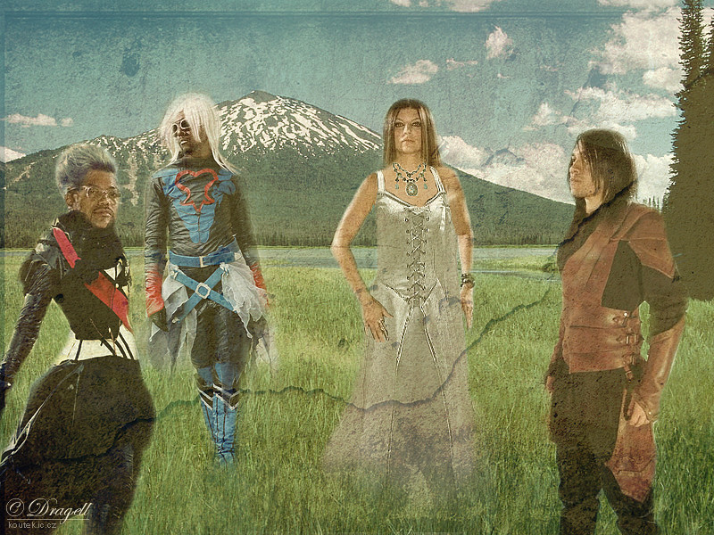 Photomanip:The Black Eyed Peas by Dragellka