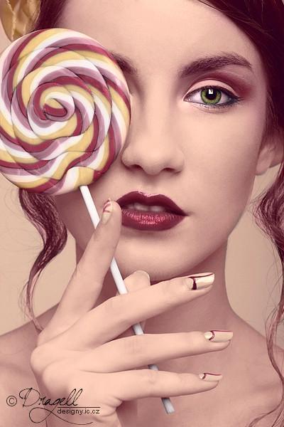 Colorization: Lollipop by Dragellka